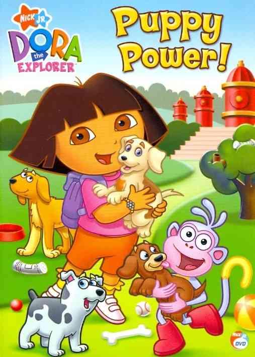 DORA THE EXPLORER:PUPPY POWER BY DORA THE EXPLORER (DVD)